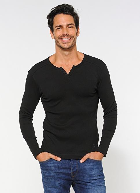 Kiğılı Sweatshirt Siyah